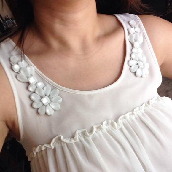 H&M Dresses - H&M white dress
