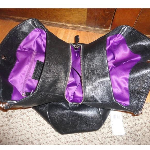 47476ab85246 Womens Coach Madison Coach Bags - SOLD on EBAY NWOT Coach Madison Phoebe  black purse Coach New Madison Leather Phoebe Shoulder ...
