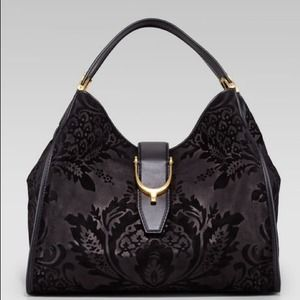 👜 Gucci Soft Stirrup Large Hobo in Black. NWT 👜