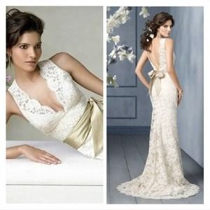 Dresses & Skirts - Lace wedding dress