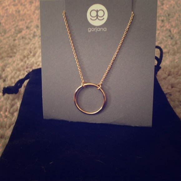 Gorjana Jewelry Sold Open Circle Necklace Brand New