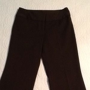 Chocolate brown dress pants