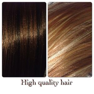 "👸 20"" blonde hair weave 👩 20"" brown hair weave"