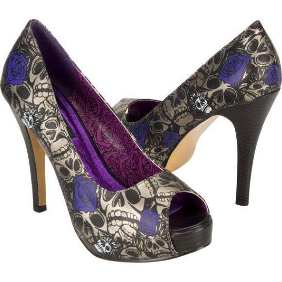 53% off Iron Fist Shoes - ❤SOLD❤❤❤Iron Fist Muerte Punk Purple ...