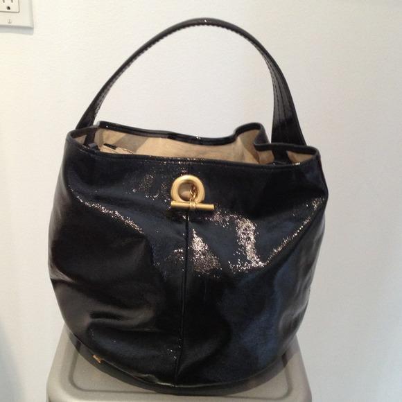 "ysl authentic handbag 17"" across and 11"" down"