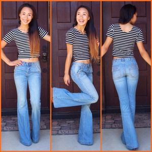 Bundle💜 Free People Jeans & Wildfox Dress