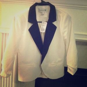 FLASH SALE!! Host Pick Black & White Tuxedo Blazer