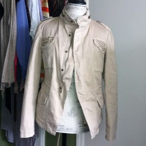 Zara Jackets & Blazers - FINAL PRICE⬇️ZARA military style khaki jacket