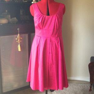 Marvin Richards hot pink dress
