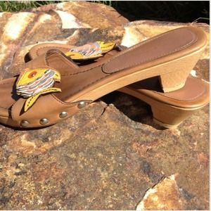 Prada Fish Clog Sandals