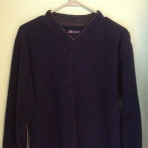 Men's fleece sweater - navy