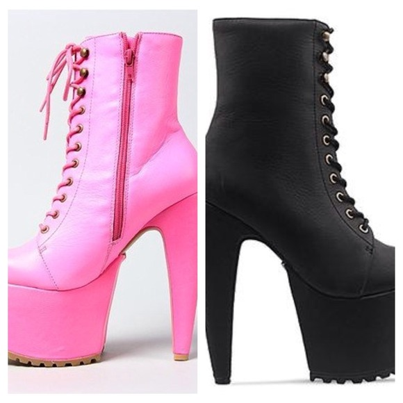 buy popular ff680 07cc2 WANTED Jeffrey Campbell x Human Aliens go go boots