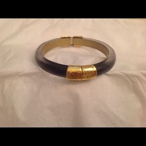 Alexis Bittar Black Hinged Bangle🍭Host Pick 11/27
