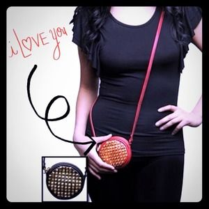 🔱SUCH A STUD Cross Body! NWT! In Black or Red!🔱