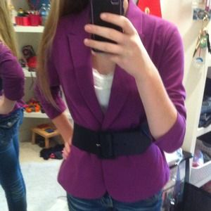 Purple Blazer! 