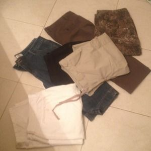 Pants - Pass the knee short/ pant $90 for all 6 or $20each
