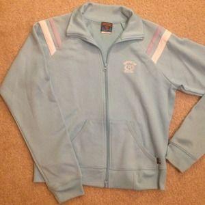 Baby blue sport sweater