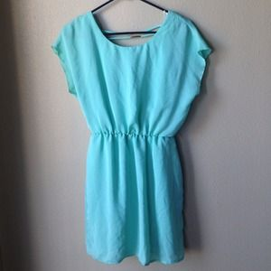 Tiffany blue dress!