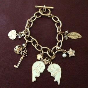 67 jewelry best friend owl bracelet