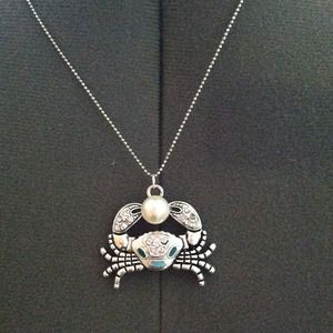 Crab Necklace Pendant