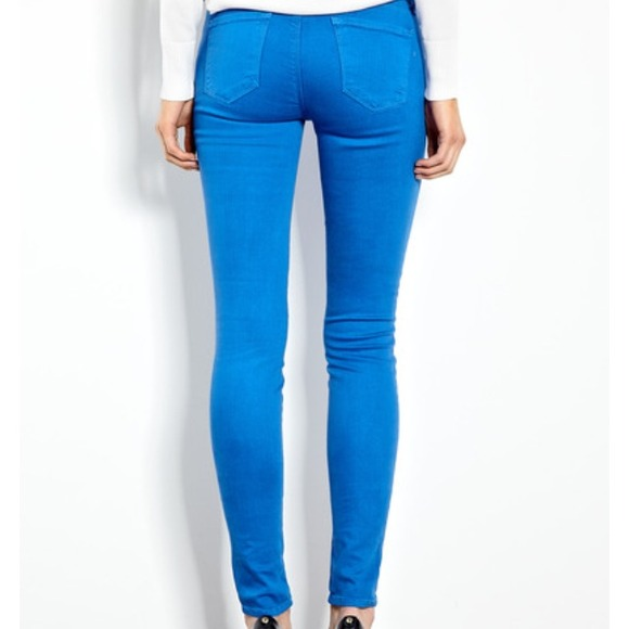79% off J Brand Denim - 🎀HP🎀J Brand Electric Blue skinny jeans ...