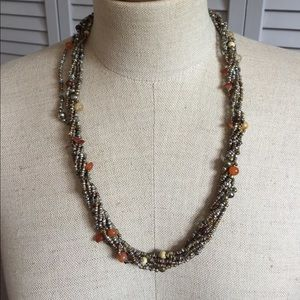 Jewelry - Beaded multi-strand necklace