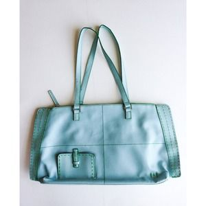 Matt & Nat Handbags - Matt & Nat Light Blue Tote