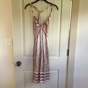 BCBG Max Aria 100% silk dress SZ M