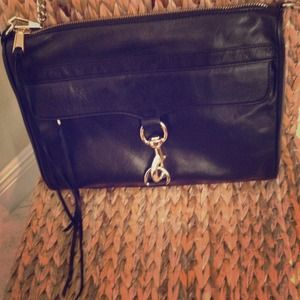 REDUCED Rebecca Minkoff MAC Daddy clutch black