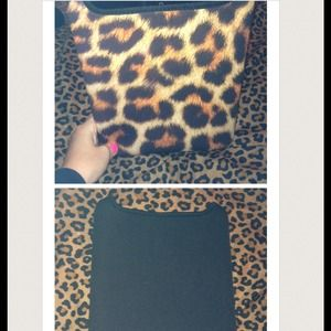F21 cheetah iPad/tablet case