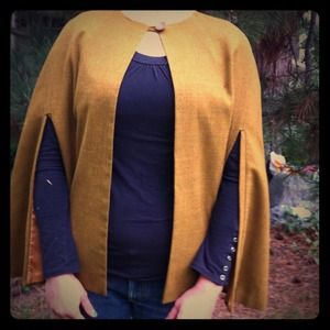 Vintage Golden brown cape