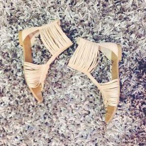 Jeffrey Campbell gladiator sandals