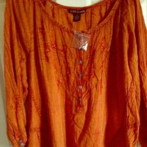 Tops - Bohemian style top.