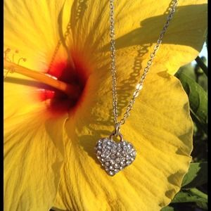 🌻Heart Rhinestone Fashion Necklace🌻