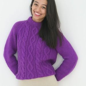Mohair Italian Sweater