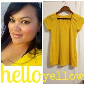 Tops - Hello Yellow T-Shirt