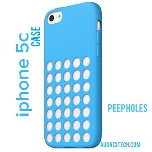 Accessories - New iPhone 5c Peep Holes Case in Blue