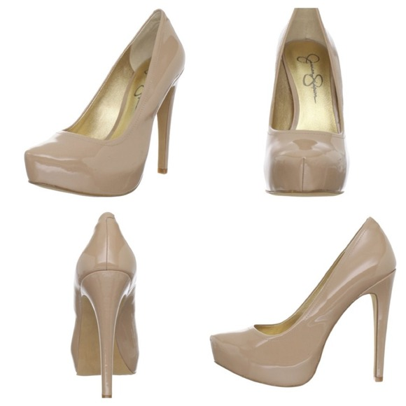 33a29f966edf Jessica Simpson Shoes - Jessica Simpson Francesca Platform Pump Nude Blush