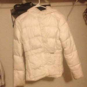 Old Navy Jackets & Blazers - White winter jacket