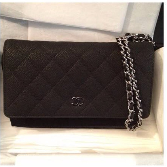 662f44fff64b CHANEL-Wallet on Chain WOC Black Matte Caviar SHW!
