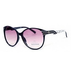 Women's Round Frame Sunglasses - Deep Purple