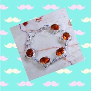 Jewelry - .925 citrine quartz- never worn!