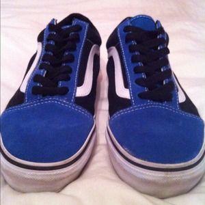 Old skool core classic blue Vans