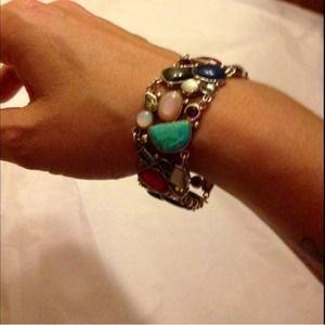  Super Sale!Gemstone & 925 sterling Bracelet