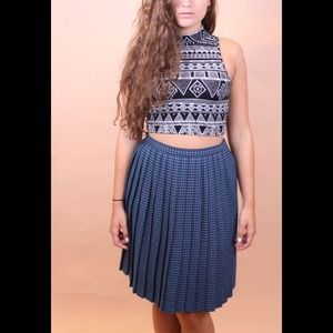 Pleated Winter Skirt