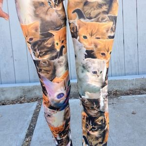 Pants - Kitten cross leggings--Sale