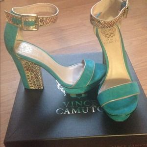 Vince Camuto Ankle Strap Heels *Only Worn Twice*
