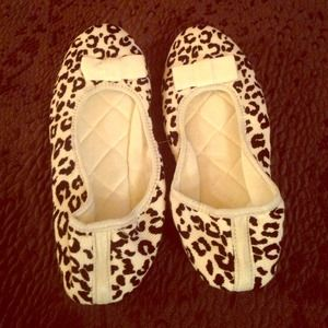 BRAND NEW Animal print slippers