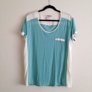 F21 Color block top