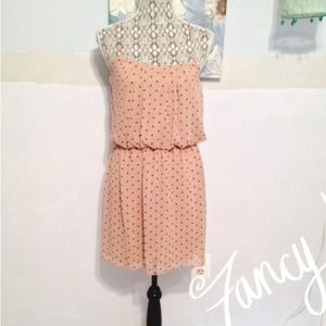 Polka dotted blouses dress!